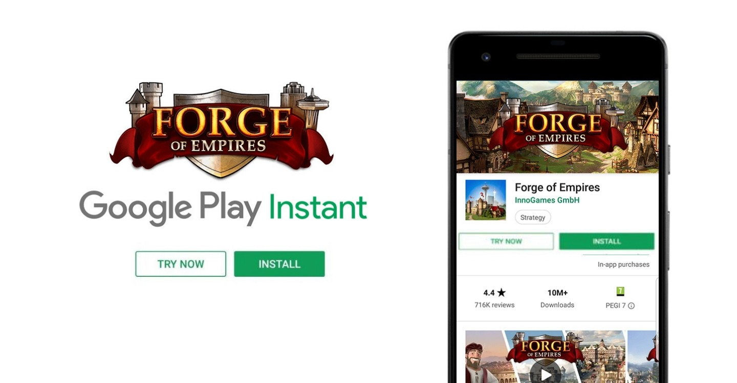 Forge of Empires - Google Play Instant | Projects | The